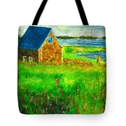House By The Field Tote Bag