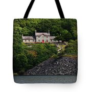 House By The Llyn Peris Tote Bag