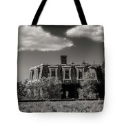 House By The Railway Tracks Tote Bag