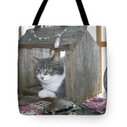 House Cat Tote Bag