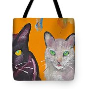 House Cats Tote Bag