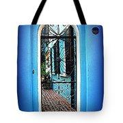 House Door 4 In Charleston Sc  Tote Bag by Susanne Van Hulst
