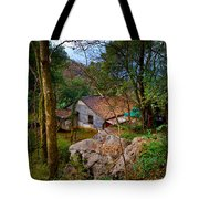 House In China Woods Tote Bag