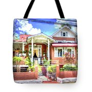 House In Curepe Tote Bag