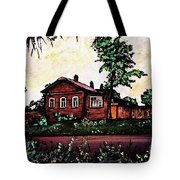 House In Sergiyev Posad   Tote Bag