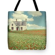 House In The Countryside Tote Bag