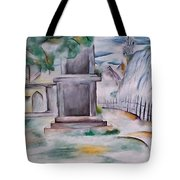 House In The Fog Tote Bag