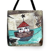 House In The Sea Tote Bag
