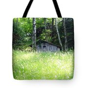 House In The Wood Tote Bag