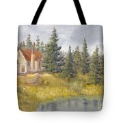 House In The Woods 2  Tote Bag