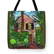 House Of Pink Tote Bag