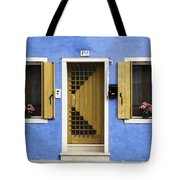 House Of Venice - Blue Tote Bag