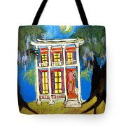House On Esplanade  Tote Bag
