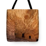 House On Fire-indian Ruin Tote Bag