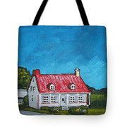 House On Ile D'orleans Tote Bag