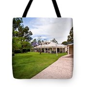 House On Land Tote Bag