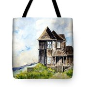 House On Little Lake Street Mendocino Tote Bag