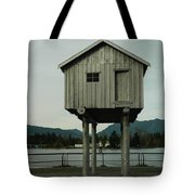 House On Stilts, Coal Harbour Vancouver Tote Bag