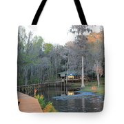 House On The Inlet Tote Bag
