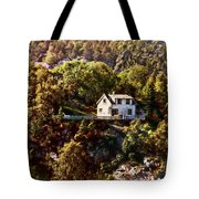 House On The Side Of The Mountain Tote Bag
