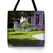 House On Wisconsin Avenue Tote Bag