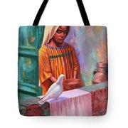 House Pigeon Tote Bag