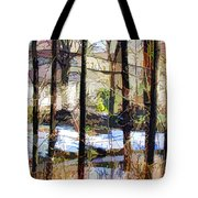 House Surrounded By Trees 2 Tote Bag