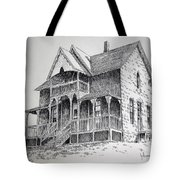 House Virginia City Montana Tote Bag