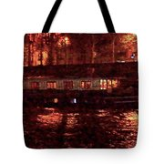 Houseboat On The Seine Tote Bag