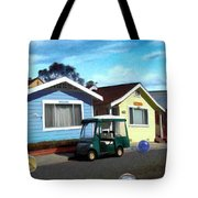Houses In A Row Tote Bag