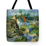 Houses In Auvers Tote Bag