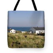 Houses In Low Hauxley. Tote Bag