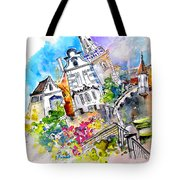 Houses In Ponte De Lima Tote Bag