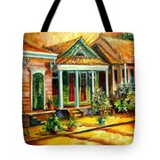 Houses In The Marigny Tote Bag