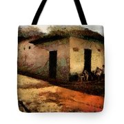 Houses Of Choroni Tote Bag