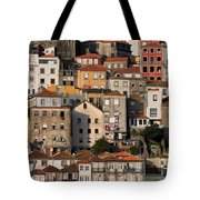 Houses Of Porto In Portugal Tote Bag