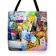 Houses Of The Rising Sun Tote Bag