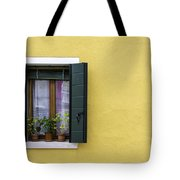 Houses Of Venice - Yellow  Tote Bag