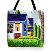 Houses Remastered Tote Bag