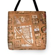 Houses With Central Courtyards Tote Bag