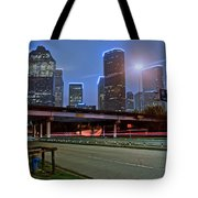 Houston Above Tote Bag