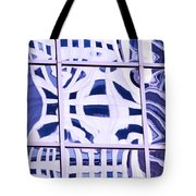 Houston Abstract Thinking Of Guadi Tote Bag