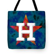 Houston Astros Logo Tote Bag