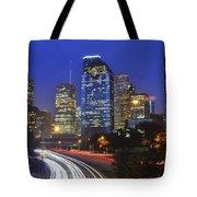 Houston City Life Tote Bag