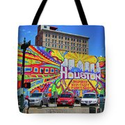 Houston, Inspired, Hip, Tasty, Funky, Savvy Tote Bag
