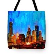 Houston Skyline 102 - Pa Tote Bag