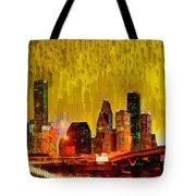 Houston Skyline 111 - Pa Tote Bag