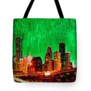 Houston Skyline 112 - Pa Tote Bag