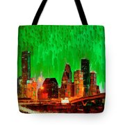 Houston Skyline 115 - Pa Tote Bag