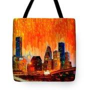 Houston Skyline 116 - Pa Tote Bag